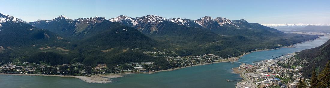 Juneau Town, Alaska