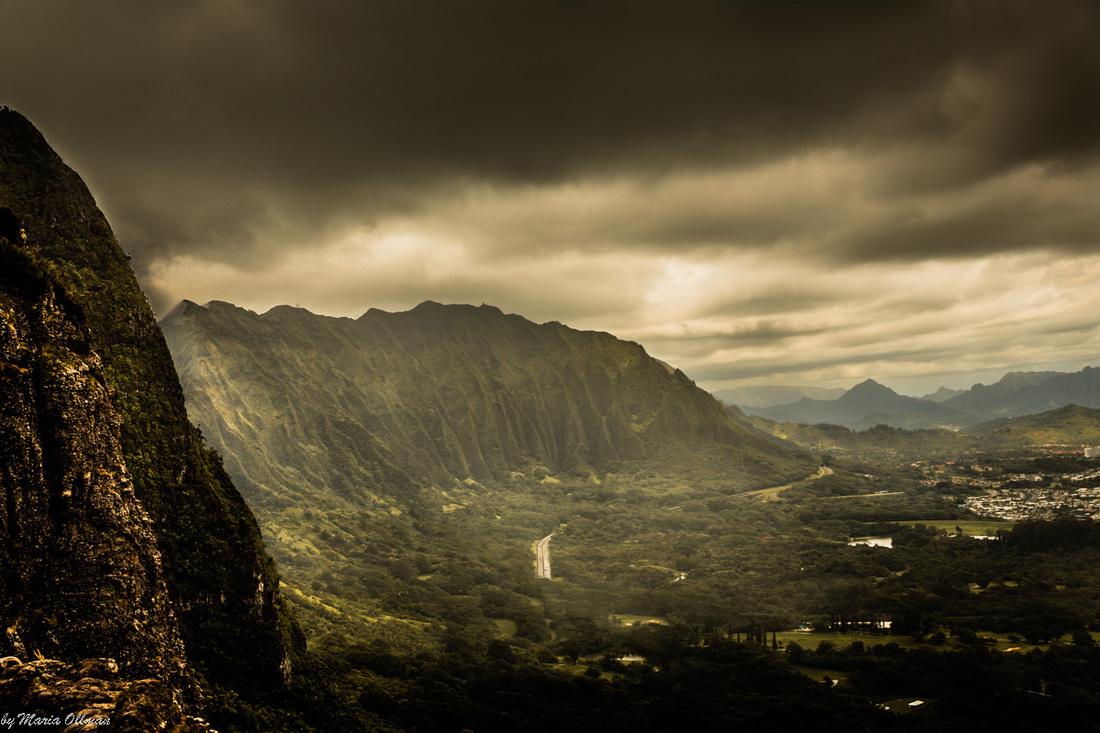 Ko'olau Cliffs Storm
