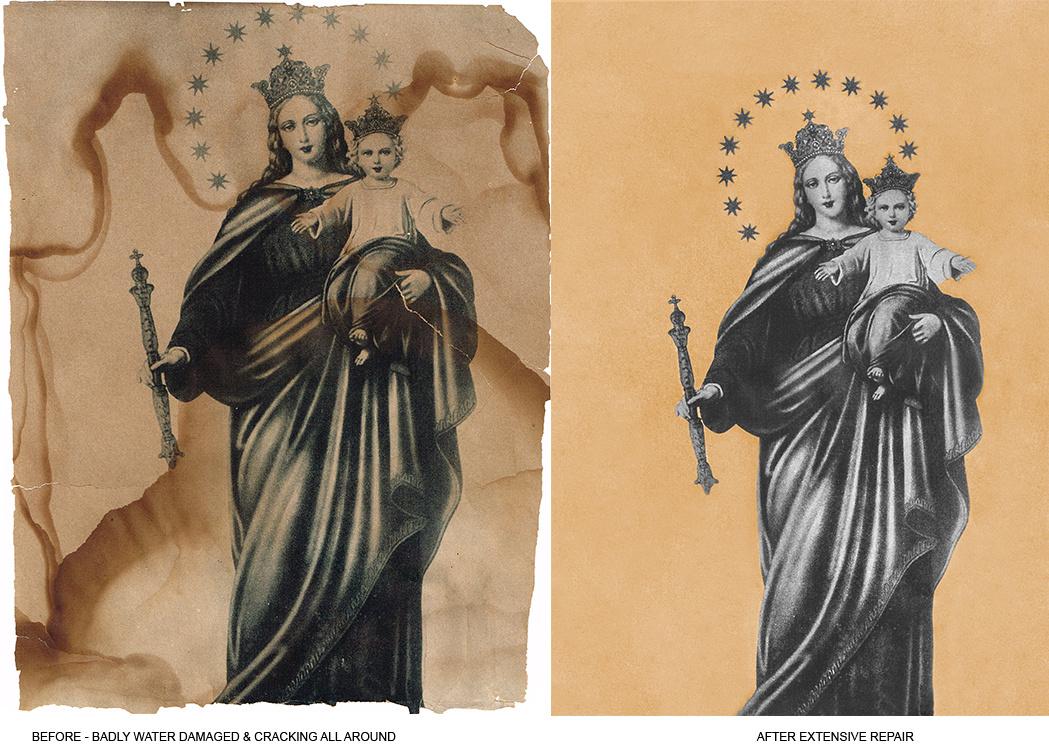 Virgin Mary Restoration
