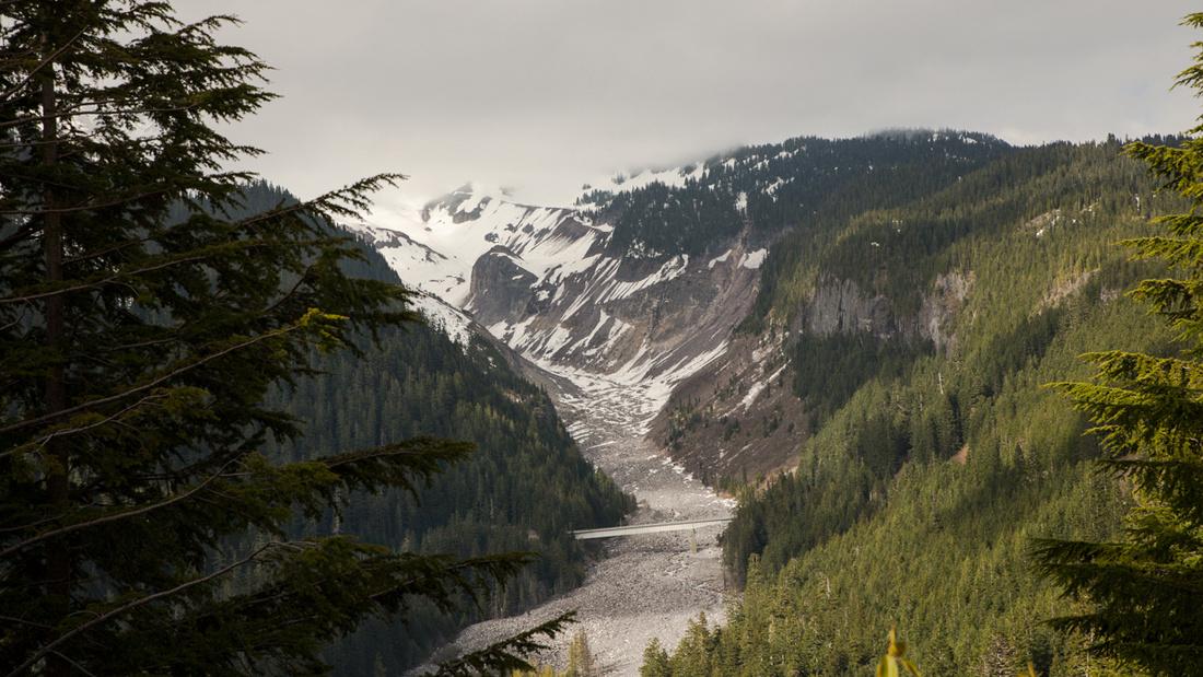 Mount Rainier Glacial River