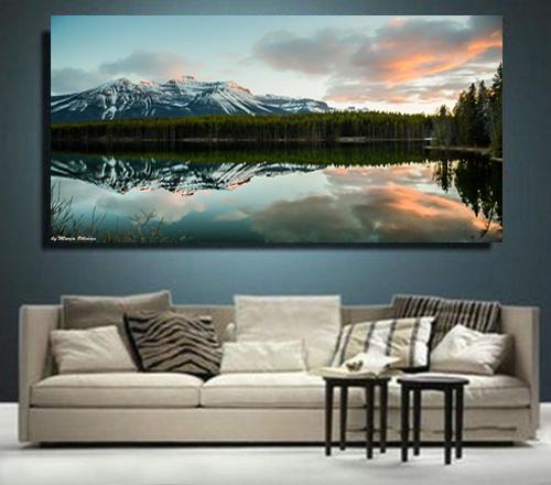 Rockies Landscape print on Wall