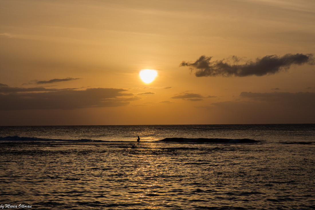 Sunset Beach at Kee