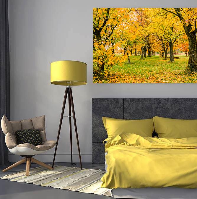 Bedroom in Yellow